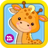 Animated Puzzle Games 1: Fun Learning Adventure for Girls and Boys with Animals, Vehicles, Ice Creams, Amazing Xylophone and Flowers - Toy for Kids Explorers (Baby, Toddler and Preschool) - Abby Monkey® educational edition