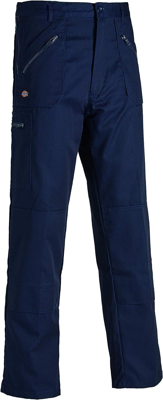 Talla del fabricante: 36S Dickies Redhawk Action Pantalones de trabajo Hombre Gris 46S Grey