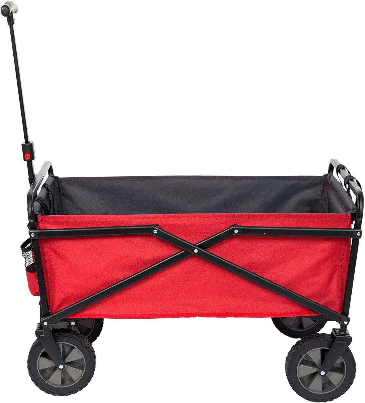 Seina 150 Pound Capacity Portable Folding Steel Wagon - Best Collapsible Wagon