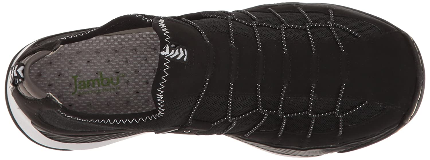 Jambu Women's Sparrow-Vegan 6.5 (Water Ready) Flat B005A6WD3Q 6.5 Sparrow-Vegan B(M) US|Black/White 0716b2