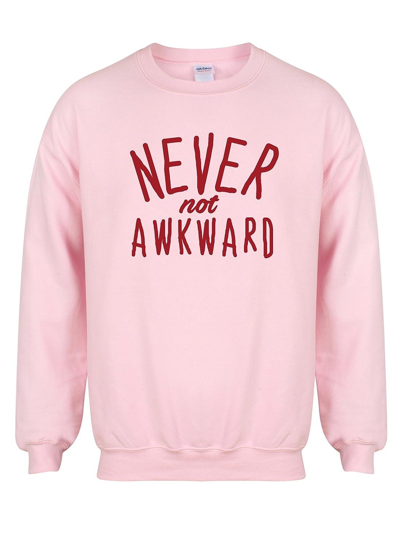 Never Not Awkward - Unisex Fit Sweater - Fun Slogan Jumper