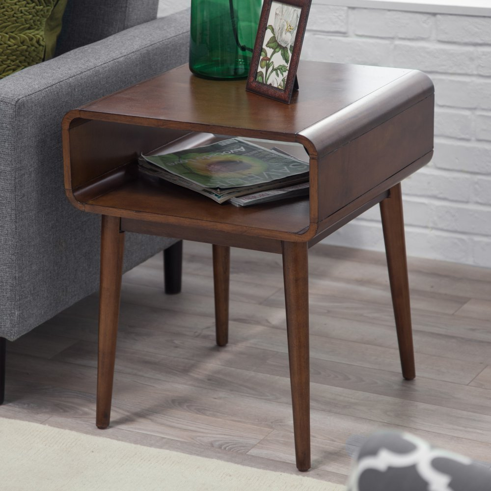 Amazoncom Belham Living Carter Mid Century Modern Side Table - Belham living carter mid century modern coffee table