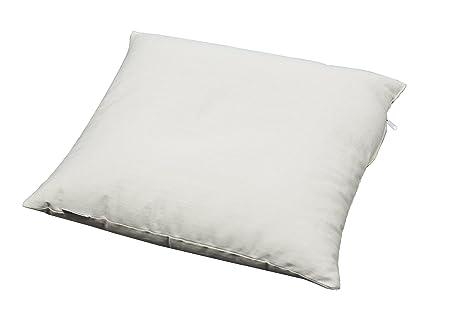 Cuscino In Grano Saraceno.Cuscino Creato Con Materiale Organico Imbottitura 100 Con Semi Di Grano Saraceno 40x40 Cm Bianco Naturale