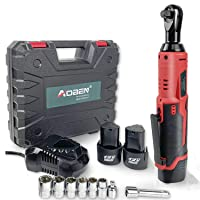 Deals on AOBEN 3/8-inch 12V Power Ratchet Tool Kit w/2-Packs Battery