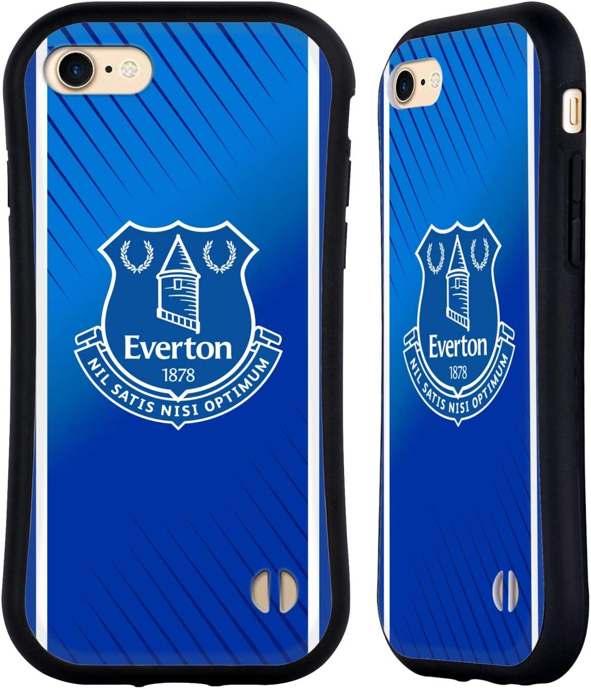 Head Case Designs Officially Licensed Everton Football Club Home 2020/21 Kit Hybrid Case Compatible with Apple iPhone 7 / iPhone 8 / iPhone SE 2020