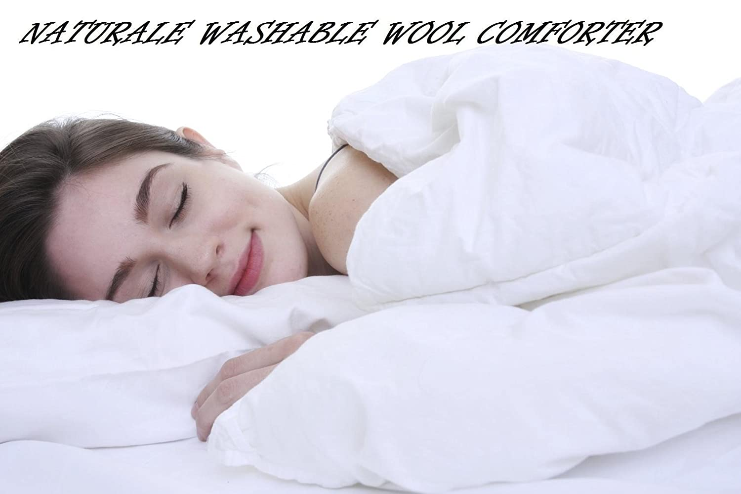 Amazon.com: Naturalé Premium Extra Weight 100% Australian Wool Comforter.  Clearance Sale: Home & Kitchen