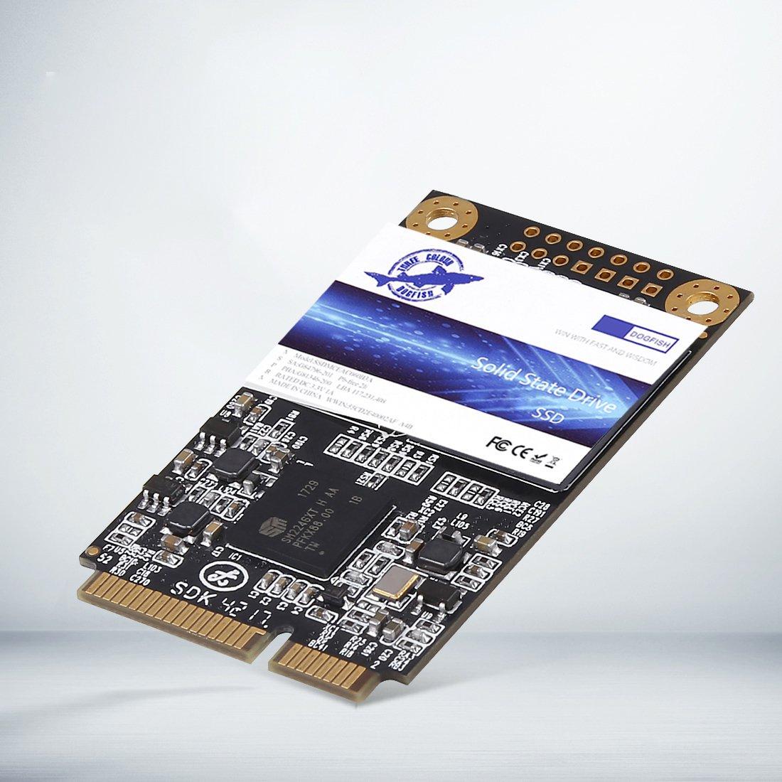 Dogfish Msata 120GB Internal Solid State Drive Mini Sata SSD Disk