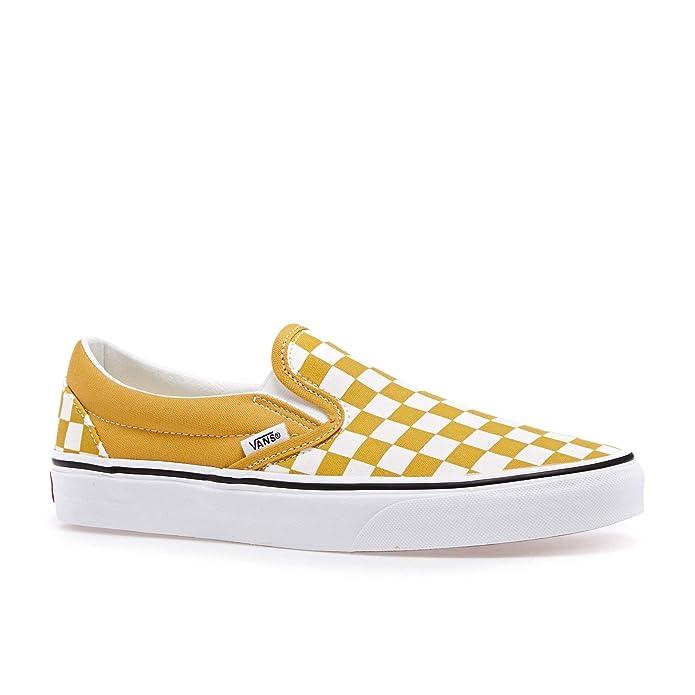 Vans Herren Slip On Checkerboard Classic Slip Ons: