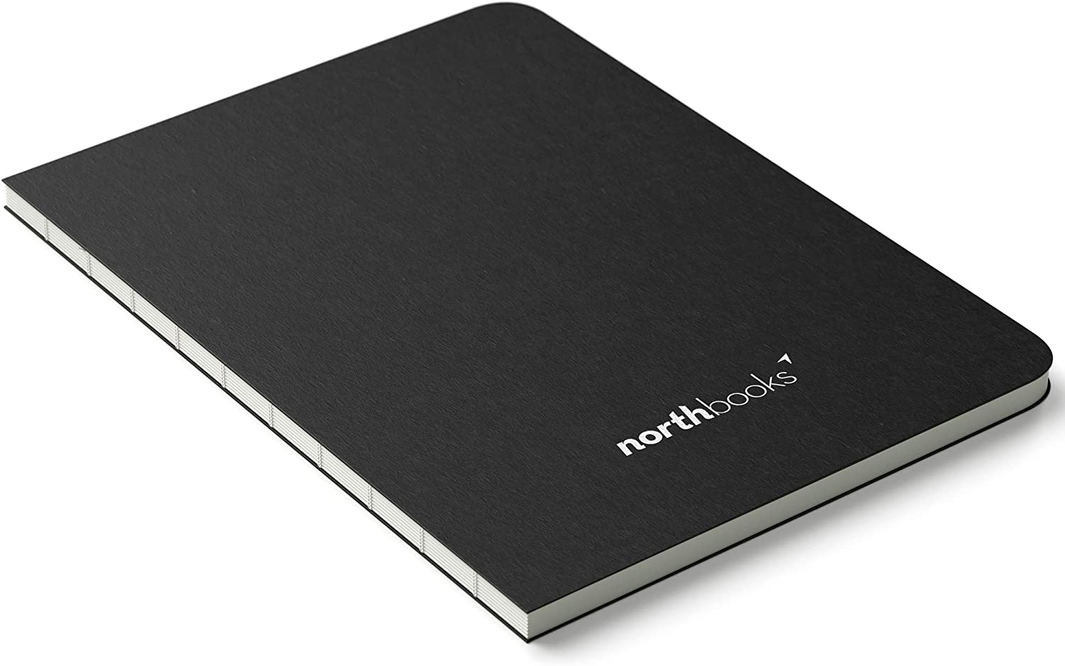 Northbooks A5 X Dotted Bullet Notebook | 180 Degree Lay Flat Design | 158 Numbered Pages | Minimal Journal 148 x 210 mm / 5.8 x 8.3 inch