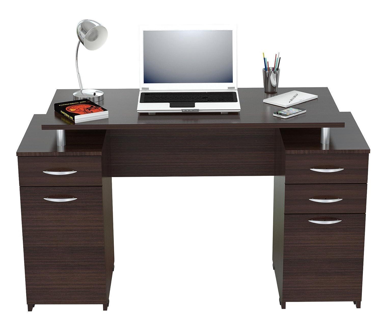 amazon com inval america es 0403 computer desk espresso wenge rh amazon com simplistic espresso computer desk inval espresso computer desk