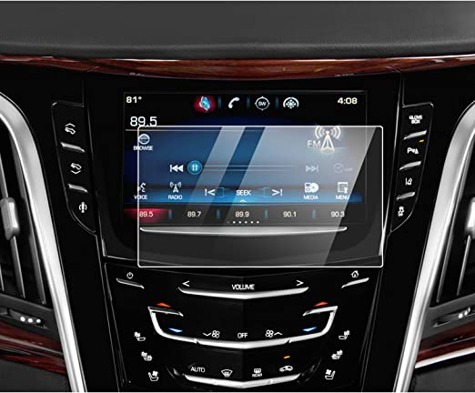 Amazon Com Yee Pin Cadillac Touch Screen Protector For 2017 2020 Cadillac Xt5 Xt6 8 Cue Infotainment Interface Center Control Touch Screen Escalade Cue 8 Inch