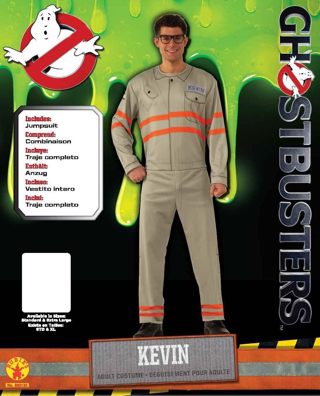 Rubies s – Disfraz de oficial de Los Cazafantasmas Kevin – Adulto ...