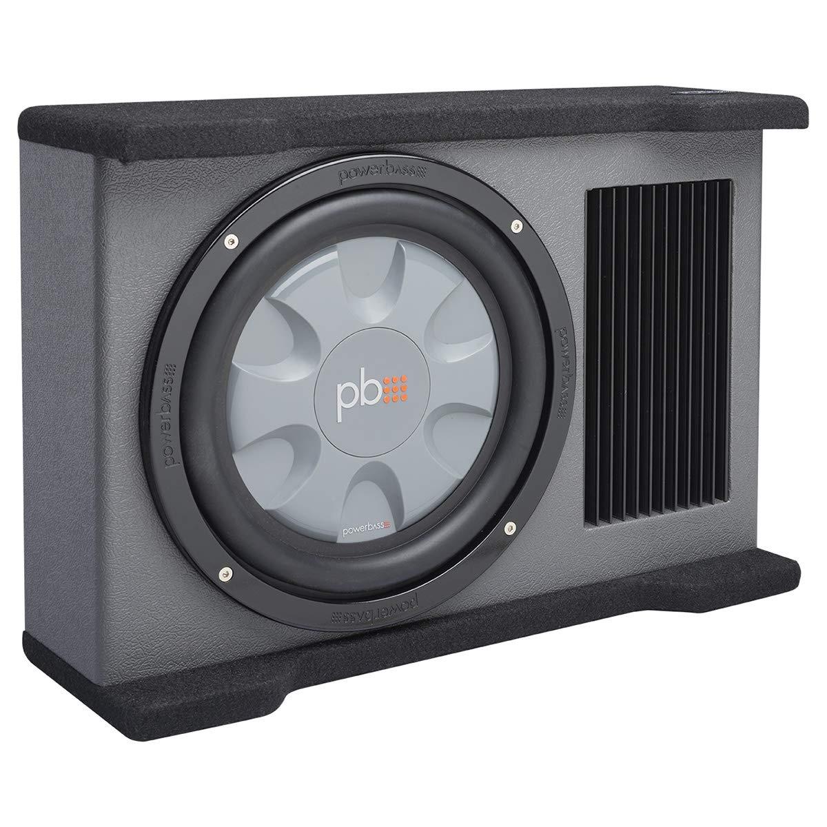 PowerBass Autosound Single 10 175 watt Amplified Downfiring Enclosure