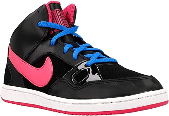 Defectuoso Perspectiva Virus  Amazon.com: Nike - Son OF Force Mid PS - 616372012 - Color: Black-Pink -  Size: 13.0: Shoes