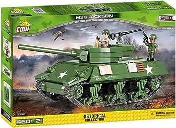 2390 COBI jouets collection historique M36 Jackson Building Set-Cobi