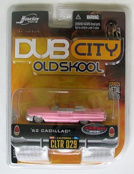 Amazon.com: Jada Toys DUB City Oldskool 1:64 Scale \'62 Cadillac Item ...