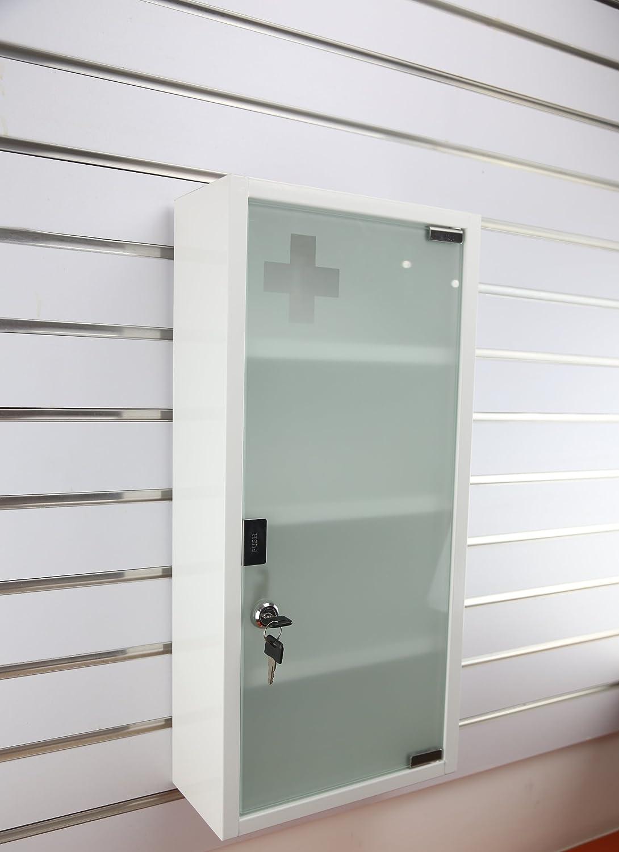 Amazon Com Wincere Moisture Resistance Steel Wall Mount Medicine Cabinet First Aid Storage Home Kitchen