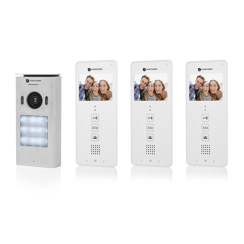 Smartwares DIC-22132 Video-Türeingangskontrolle – 480p – 3,5 Zoll (8 ...