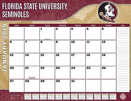 Fsu 2019 Calendar Amazon.: Turner 1 Sport Florida State Seminoles 2019 22X17
