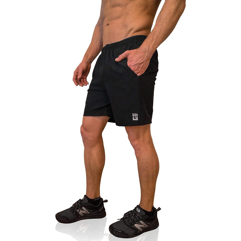 new concept 162f5 f58c8 Amazon.com   MudGear Freestyle Running Shorts for Men - 7