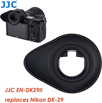 Nikon Z6 Eye Cup 50x33x21mm Nikon Z7 Eye Cup Z7 Eye Piece Soft Silicone Z7 viewfinder As Nikon DK-29 Eyecup Nikon Z6 Eye Piece Z6 Viewfinder JJC KIWIFOTOS Long Camera Eyecup for Nikon Z6 Z7