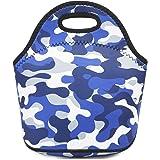 Neoprene kids Lunch box Insulated Soft Bag Mini Cooler Thermal Meal Tote Kit for Boys, Girls,Men,Women,School,Work…
