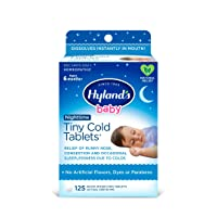 Baby Cold Medicine Nighttime Tablets, Infant Cold and Cough Medicine, Decongestant...