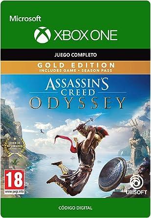 Assassins Creed Odyssey: Gold Edition - Xbox One - Código de descarga: Amazon.es: Videojuegos