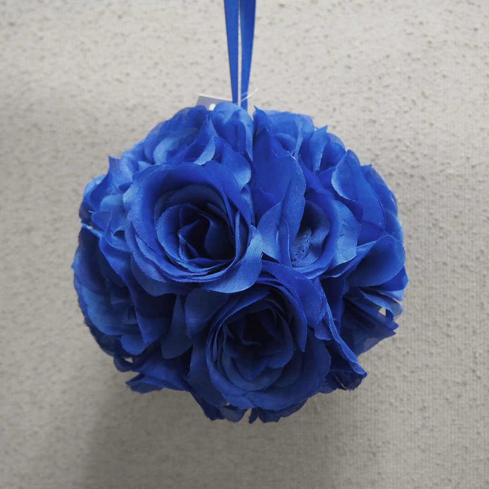 Amazon pomander flower balls wedding centerpiece 6 inch royal amazon pomander flower balls wedding centerpiece 6 inch royal blue home kitchen mightylinksfo