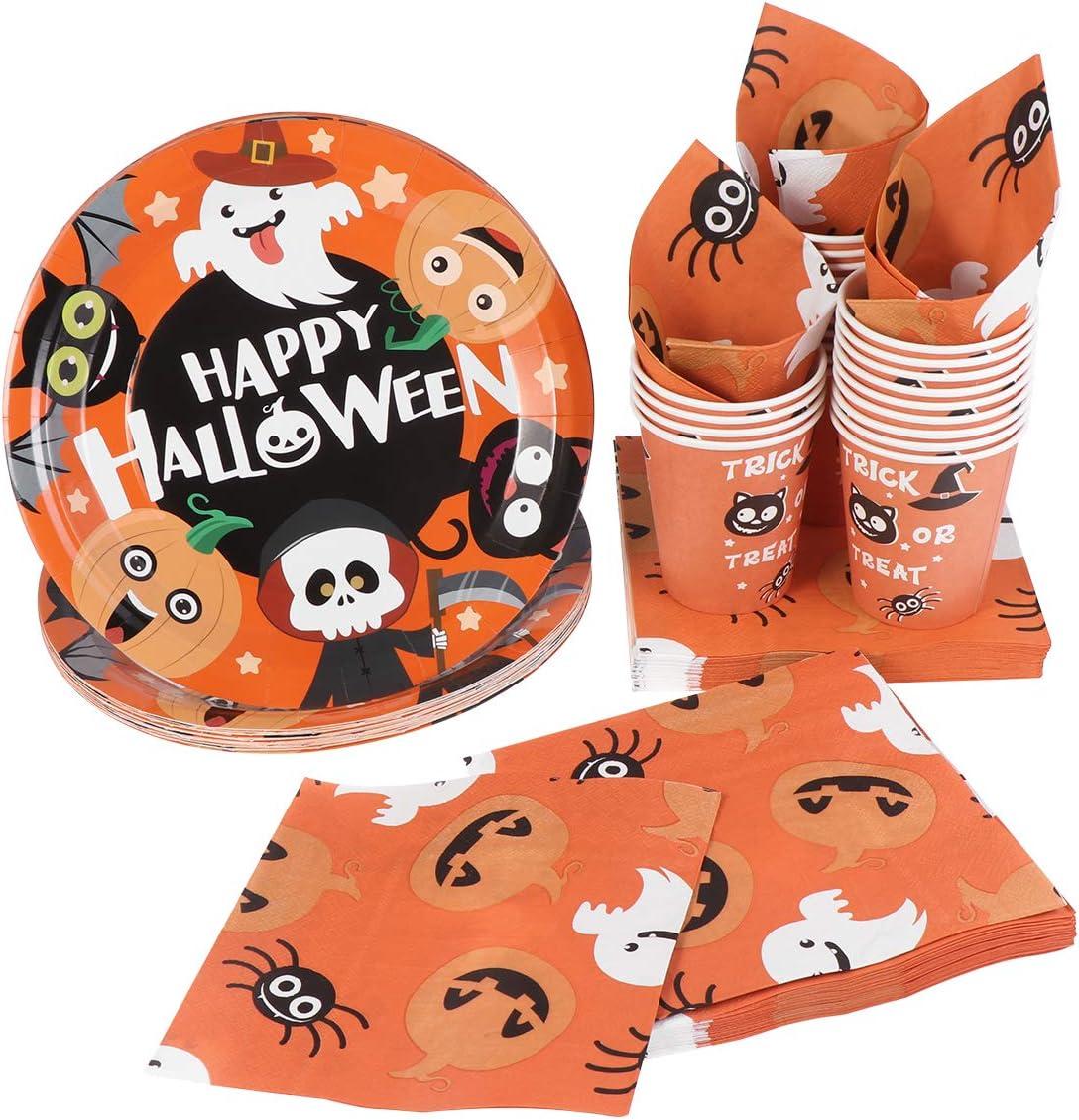 Halloween Character Party Tableware Bundles