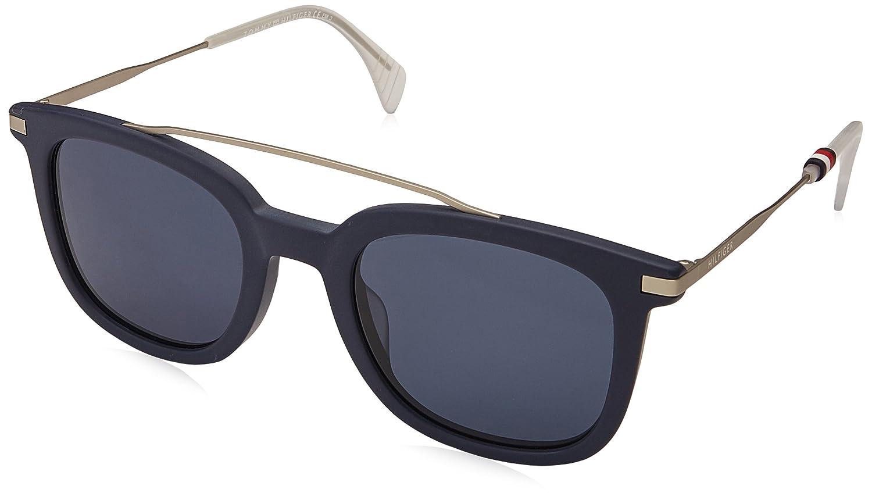 1671626f13 Amazon.com  Tommy Hilfiger Women s Th 1515 s Square Sunglasses Blue ...