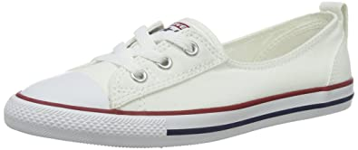 Converse Women's Chuck Taylor Ballet Lace Low Top Slippers