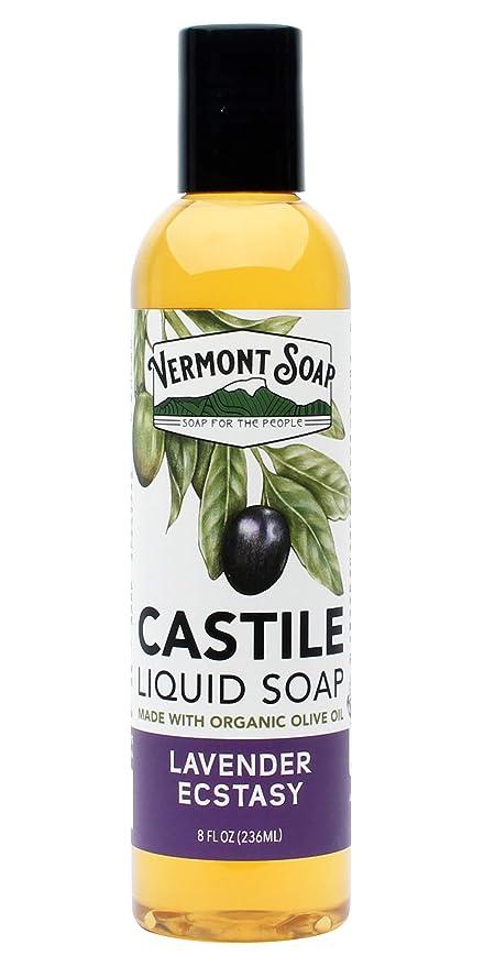 Amazon.com: Vermont orgánico de Aloe Castilla Jabón Líquido ...