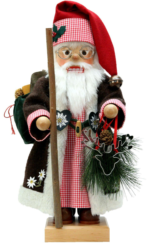 0-477 - Christian Ulbricht Nutcracker - ALPS Santa - 18.5''''H x 9.5''''W x 8''''D by Alexander Taron Importer