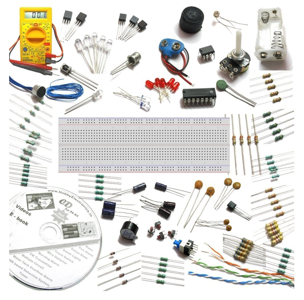 Buy Deepak Enterprise Electronics Project And Circuits Maker Kit New Electronic Circuit Projects With Spares Multimeter Ebook Multicolour Online At Low Prices In India
