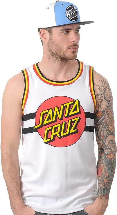 Camiseta De Baloncesto Santa Cruz Classic Dot Blanco (Xxl ...