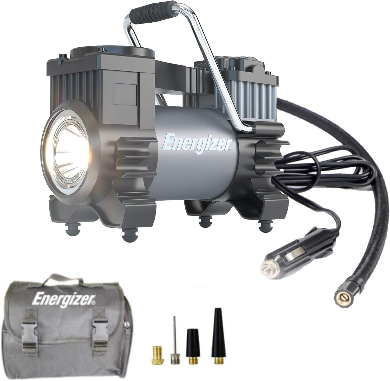 Energizer Portable Air Compressor Tire Inflator