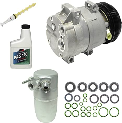 For Chevy Corvette 2000 2001 2002 2003 2004 AC Compressor w//A//C Repair Kit BuyAutoParts 60-81460RK NEW