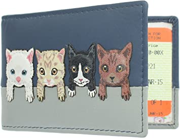 Mala Leather Best Friends Collection Travel Pass//Oyster Card Holder 630TC/_65 Navy