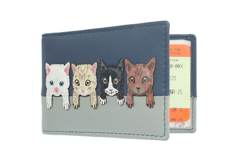 Porta Tessere Da Viaggio/Abbonamenti Mala Leather Collezione BEST FRIENDS 630TC_65 Blu marino