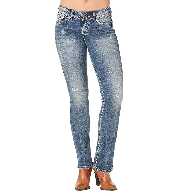 Silver Jeans Co. Suki Mid Slim Boot Medium Wash