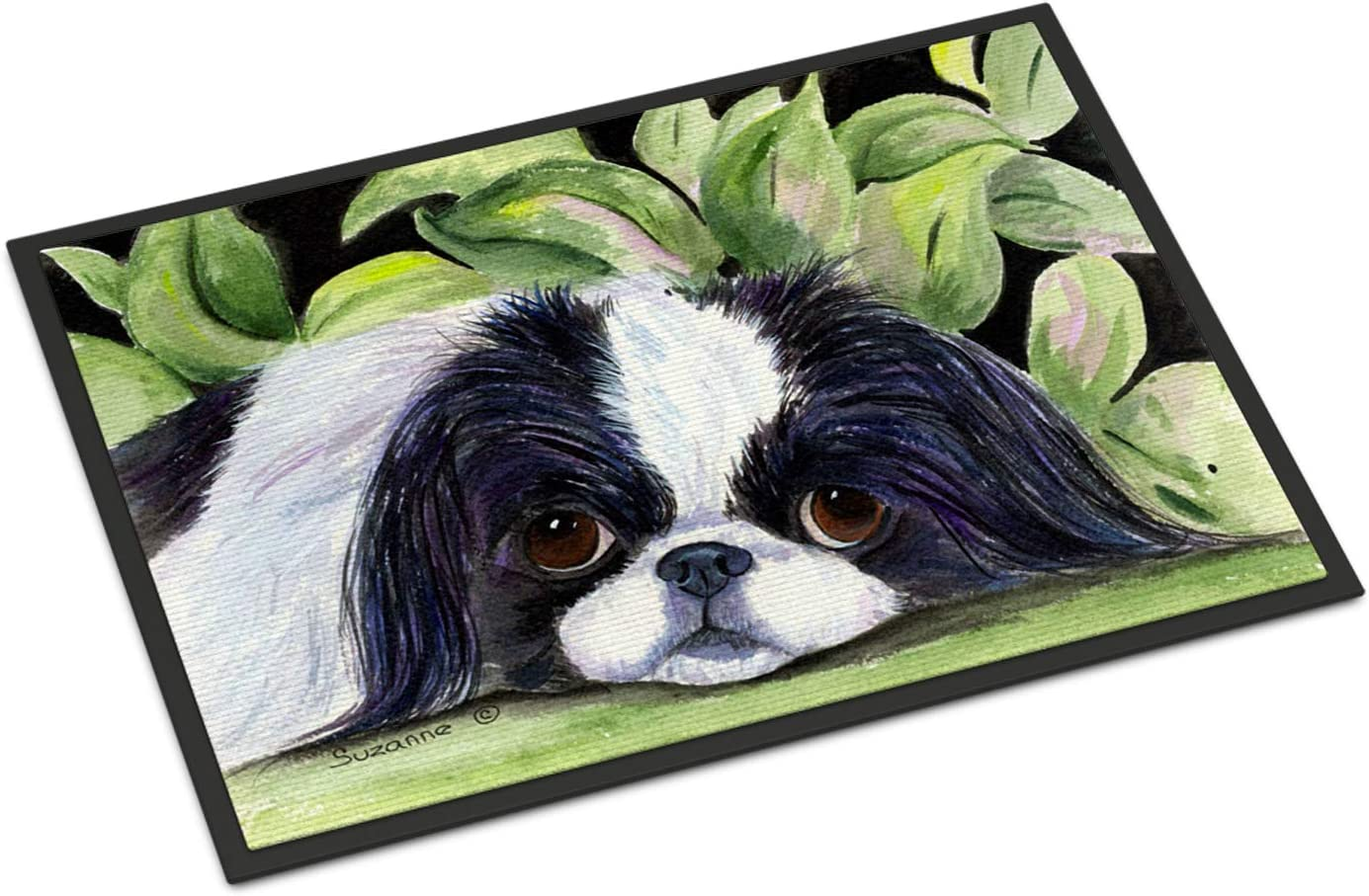 Caroline s Treasures SS8322MAT Japanese Chin Indoor Outdoor Mat 18×27 Doormat, 18H X 27W, Multicolor