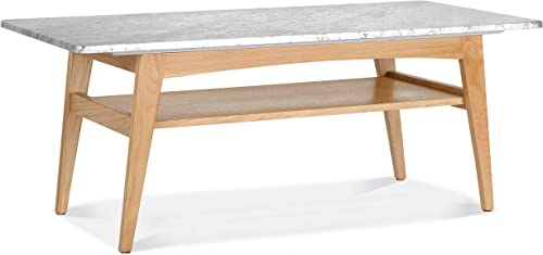 Editors' Choice: Poly and Bark Nora Marble Coffee Table