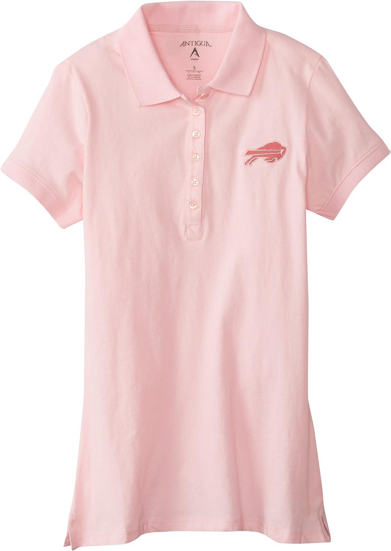 Amazon.com : NFL Women's Buffalo Bills Spark Short Sleeve Polo ...
