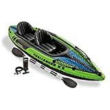 Amazon Price History for:Intex Challenger K2 Kayak, 2 Person Inflatable Kayak Set with Aluminum Oars and High Output Air Pump
