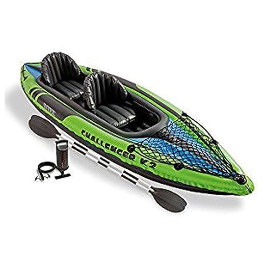 149 opinioni per Intex Challenger K2 Kayak Gonfiabile per due Persone con Remi di Alluminio