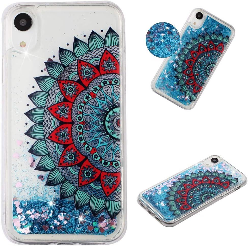 Qfun Für Iphone Xr Handyhülle Mit Glitzer Elektronik