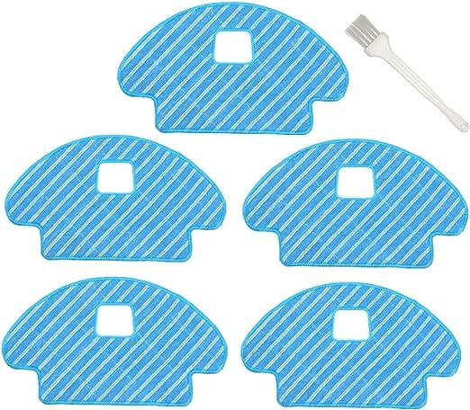 Sweet D 5 Pzs Paños de Repuestos para Ecovacs Deebot Ozmo 930 ...