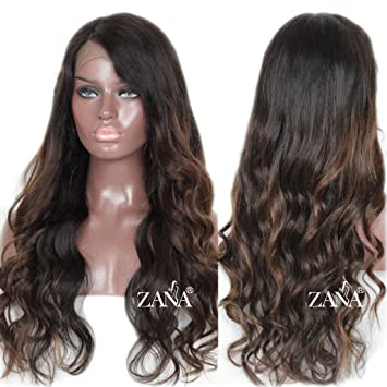 ZANA Ombre Lace Front Wigs Human Hair Wigs