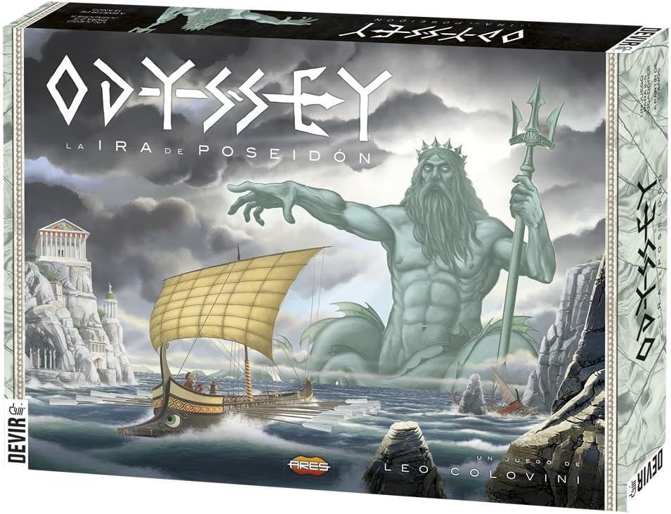Devir - Odyssey La Ira de Poseidón, Juego de Mesa (BGODY): Amazon.es: Juguetes y juegos